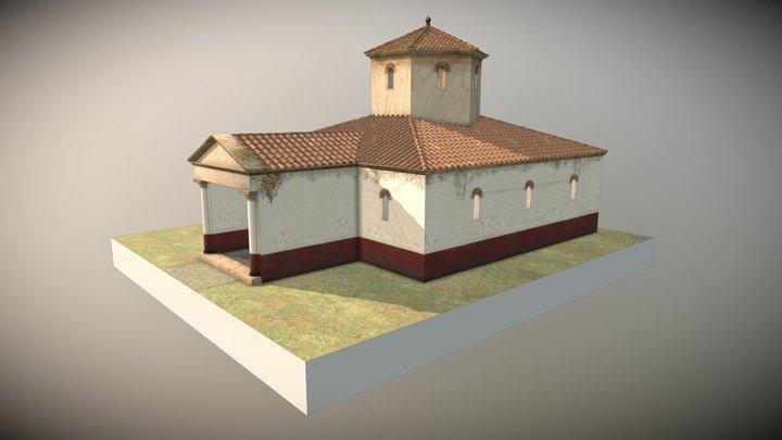 Fanum de Mordelles 3D Model