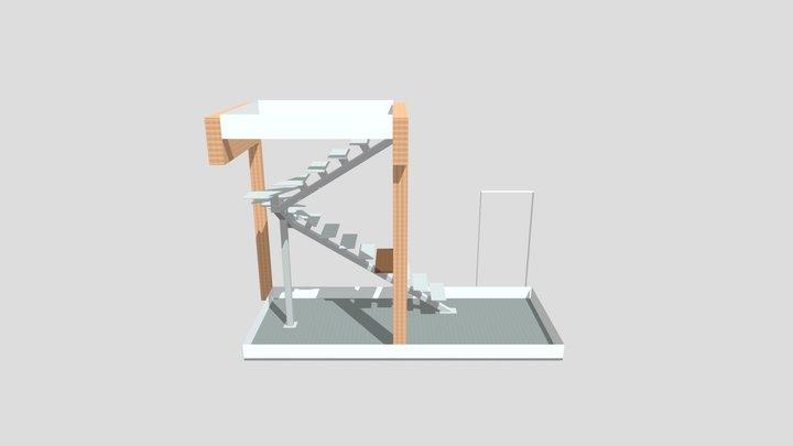 Монокосоур 3D Model