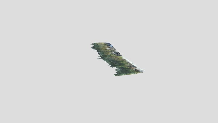 La Jolla Shores- Tide Pool (Low Tide) 3D Model