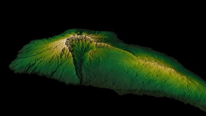 La Palma, Canary Islands 3D Model