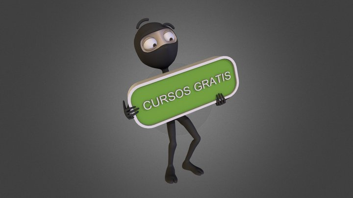 Cursos Gratis 3D Model