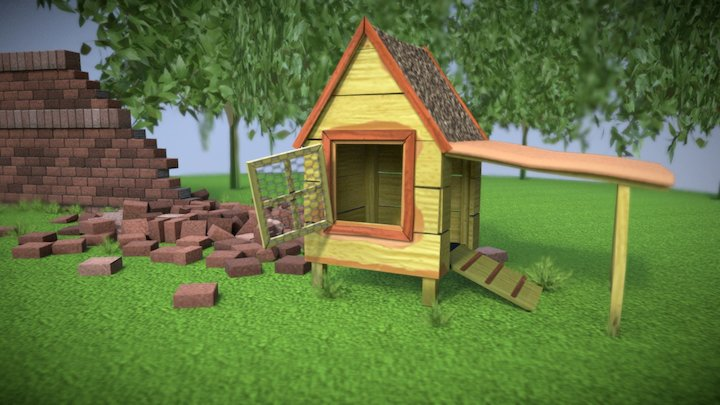 Hobo has a home 3D Model