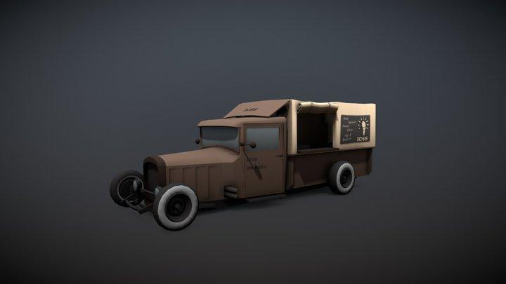 Special Ice Cream Truck 3D Model