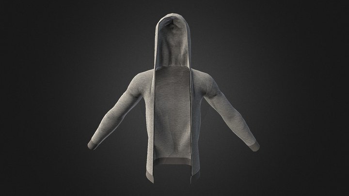 Hoodie 3D Model