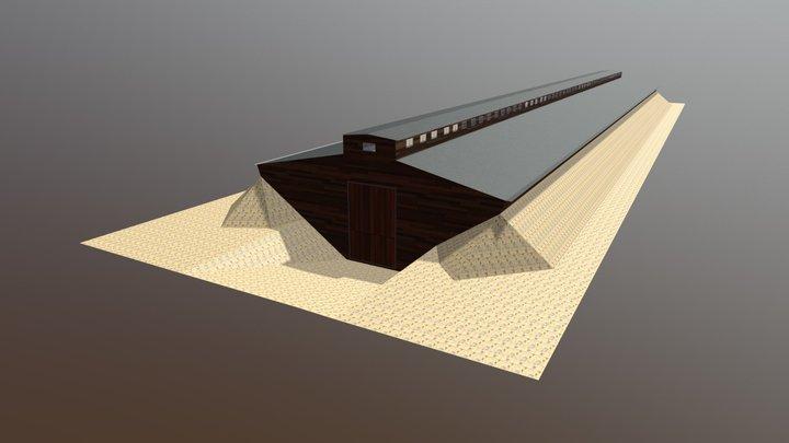 ziemianka typ 1 3D Model