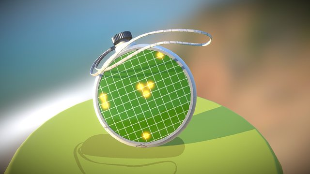 Dragon Ball Radar SGP 3D Model