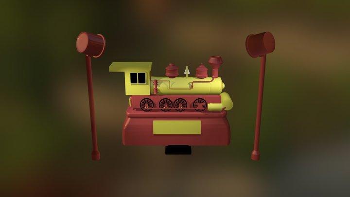 Tren 3D Model