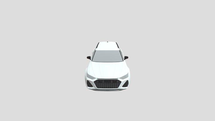 Audi_RS_6 (.Blender) 3D Model