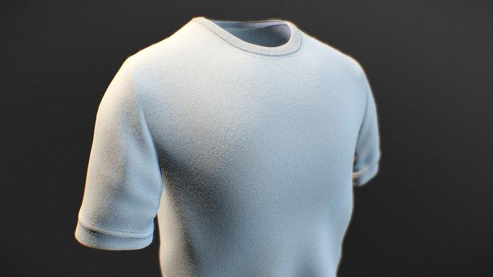 Kaos Oblong 3D Model