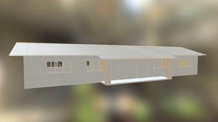 Zambia School 3D Model
