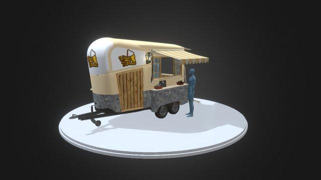 Quiosque Gelados EQ2_03 3D Model