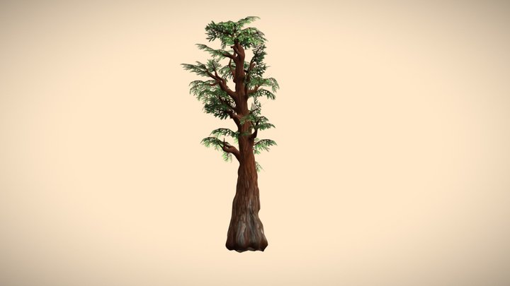 Sequoia 3D Model