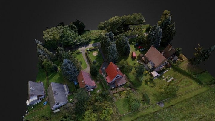 Summer house - Žlutice 3D Model