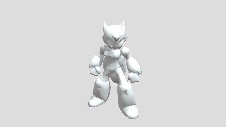 PSP - Mega Man Maverick Hunter X - Zero 3D Model