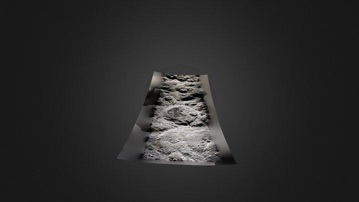 Поверхность Луны 3D Model