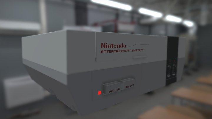 Nintendo NES original 3D Model