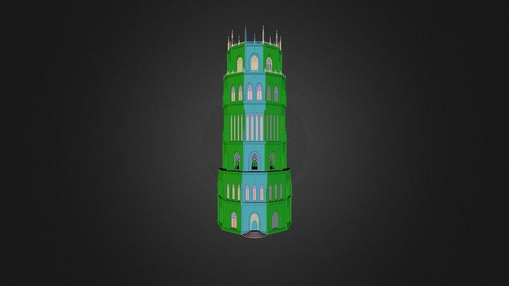 tower of adjuration 3D Model