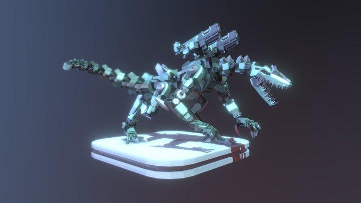 Rex-X Giant Robot 3D Model