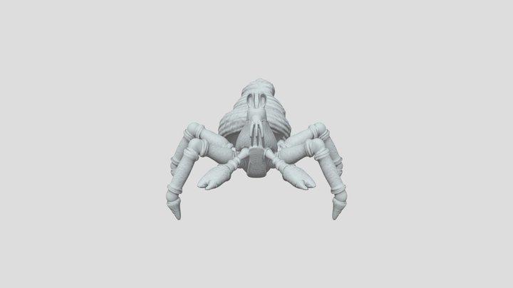 Crab w bump map 3D Model