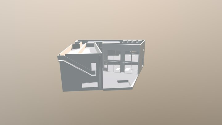 CASA 239 3D Model