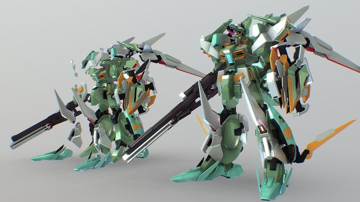 "Original JeGAN ""JGN-T01"" 3D Model"