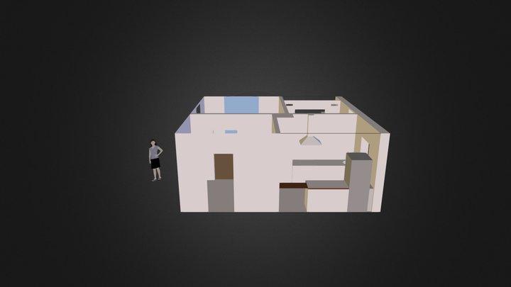 Appart1ment 3D Model