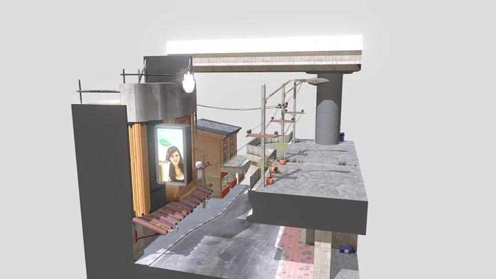 1DAE02 Cityscene Bangkok Thailand 3D Model