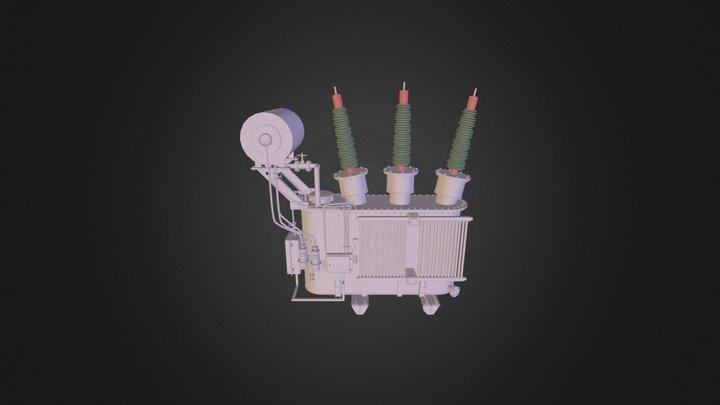 Подстанция 3D Model