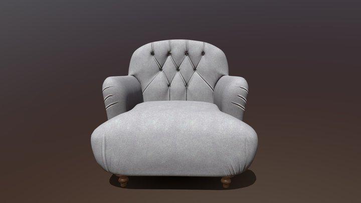 Chair Recliner 3D Model