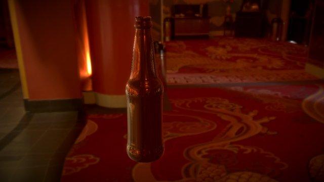 3D Bottle Study 3D Model