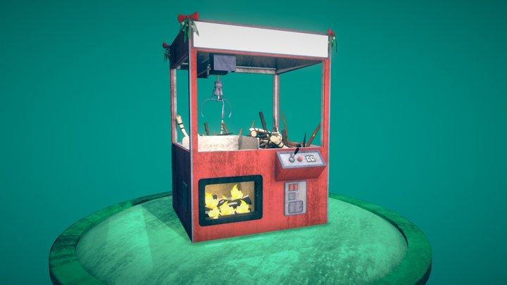'Tinder Winner' Claw Machine 3D Model