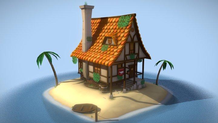 Whitewhale Tavern Isle 3D Model