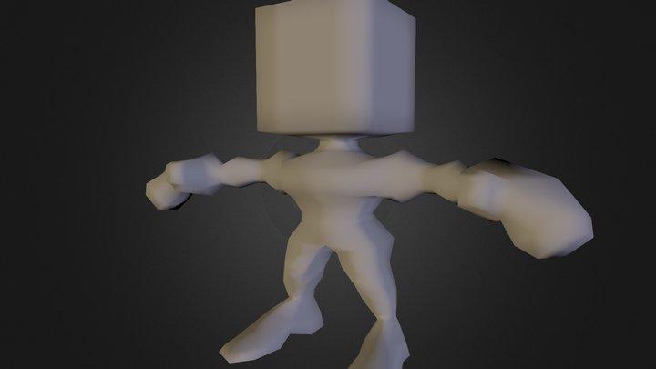 L P Figure Template 3D Model