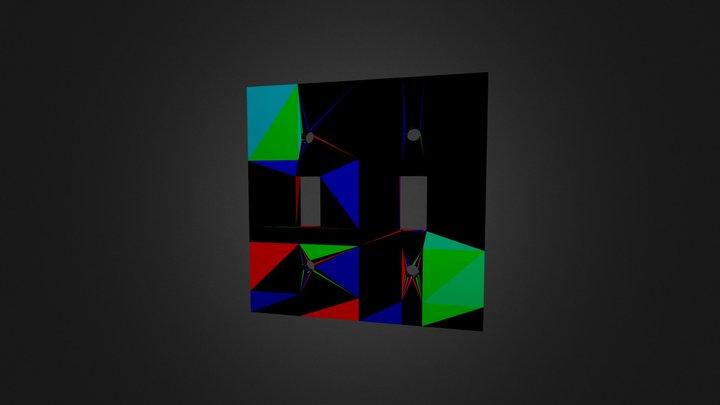 Switch Plate 3D Model