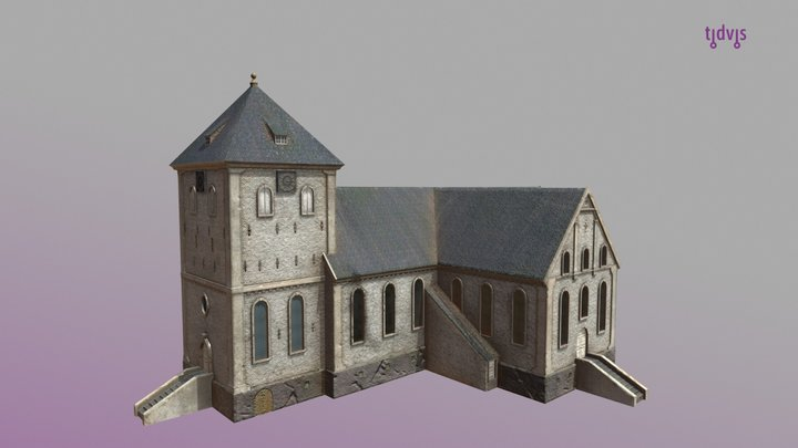 Oslo Cathedral in 1798 3D Model