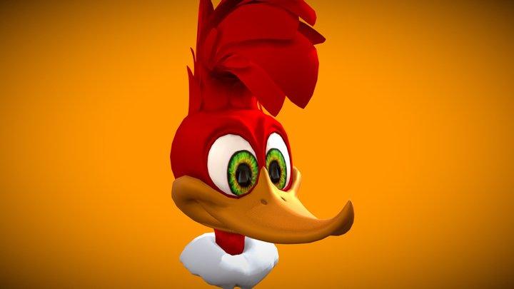 Woody Woodpecker - The Movie 3D Model