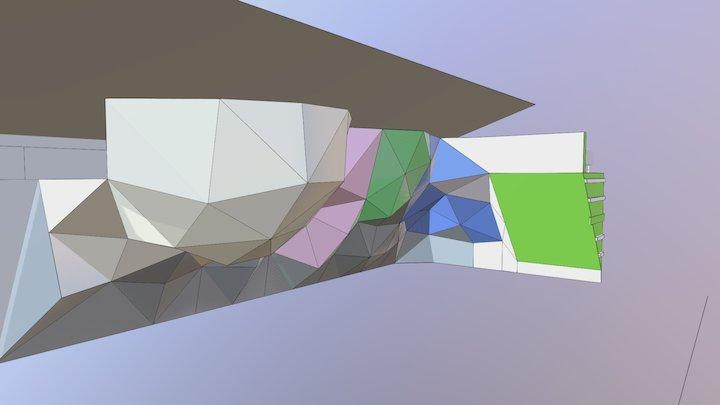 Ål Hovedveggen 3D Model