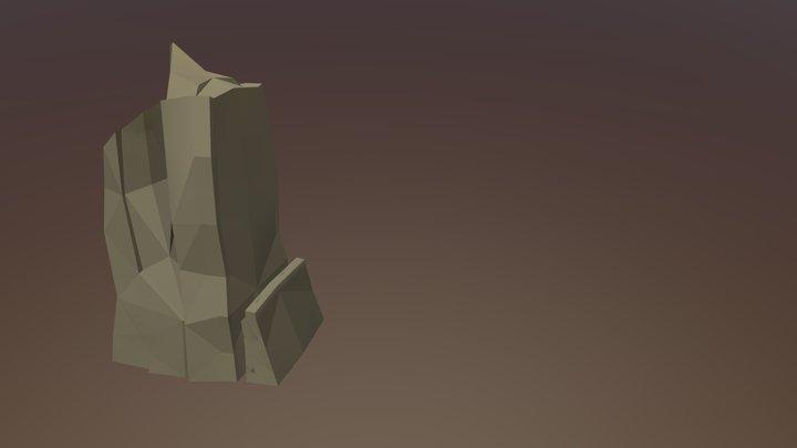 Rock Shape 3D Model