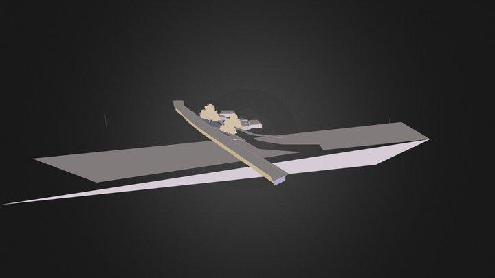 Kallai River Side 3D Model