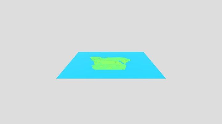 Starting Map 3D Model