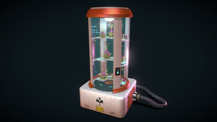 Biological Samples Container 3D Model