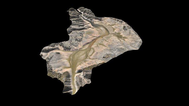 Barragem do Pego do Altar 3D Model