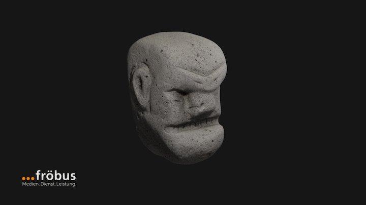Cellular Concrete Sculpture 3D Model