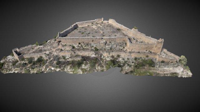 Castillo de Xiò (Llutxent, Valencia) 3D Model