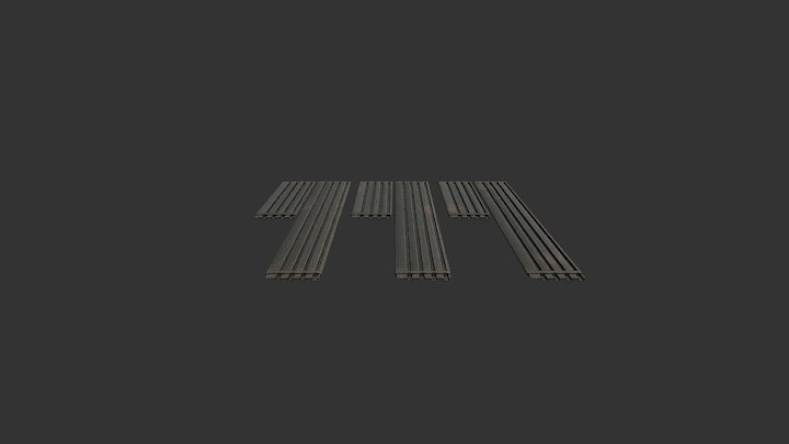 M8A1 small rust and dirt (3 variants) 3D Model