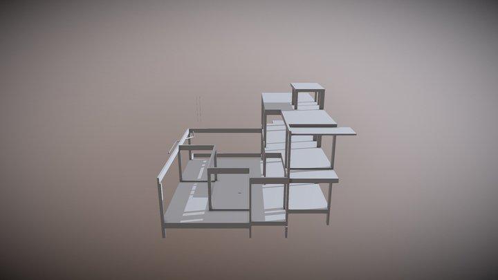 ESTRUTURA 3D Model
