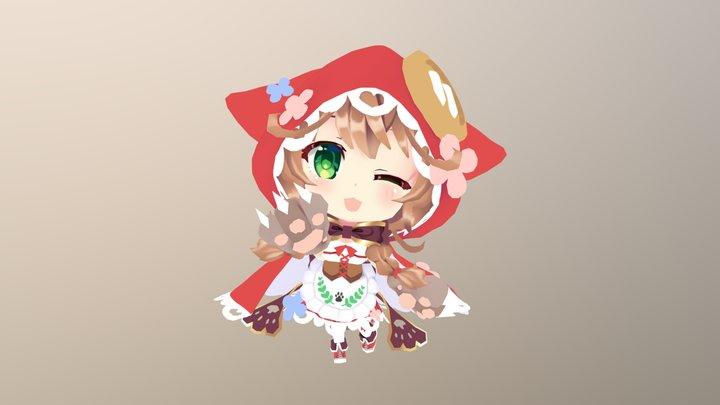 Meiji_Warabeda 3D Model