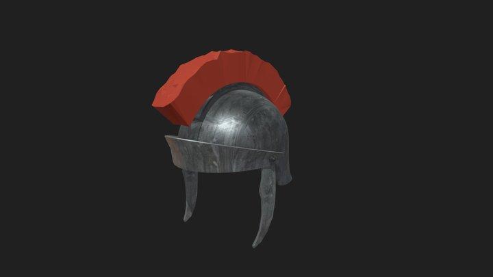 Helmet Roman 3D Model