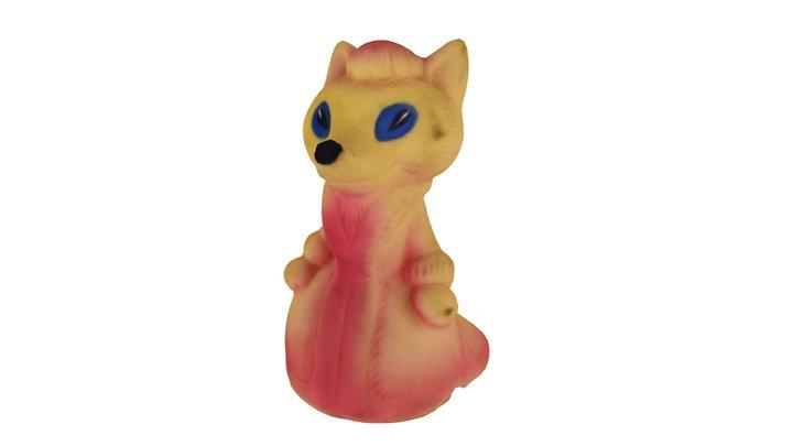 A Fox, A Toy 3D Model