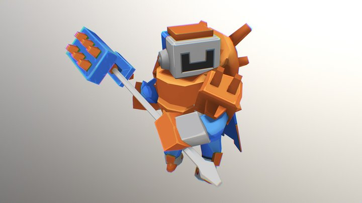 Mecha 3D Model